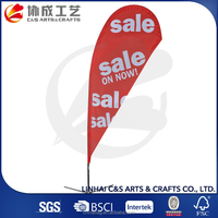 100% Polyester Feather Banner