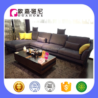 S15911 OGAHOME New Design L Shape Living Room Sofa