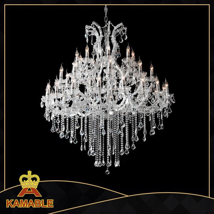 High quality crystal drop pendant lamp, crystal pendant for chandelier