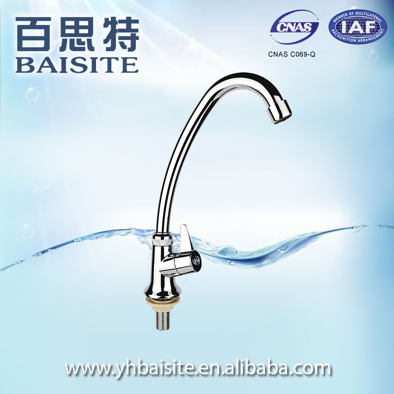 Durable Bathroom Basin Washing Water Taps Sanitary Ware Plastic ABS Kitchen Sink Mixer Faucet