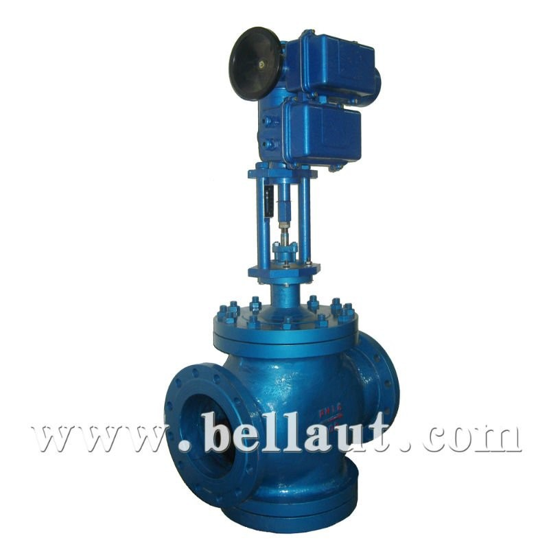 Motorized actuator globe control valve for chemical industry