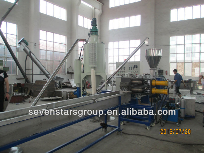 plastic pelletizing machine/plastic granulating machine/plastic granulator