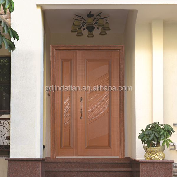 Cast aluminum explosion-proof bulletproof swing doors