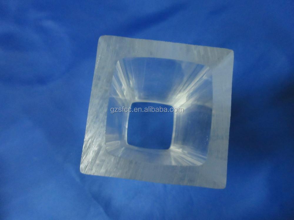 Clear large thick acrylic rectangular tube sizes