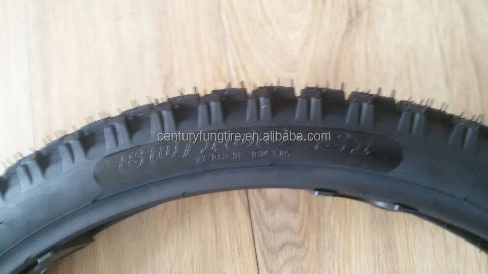 front motorcycle tyre 80/100-21