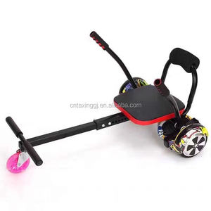 2017 hot selling hovercart go carting hoverboard seat go carting balance scooter parts