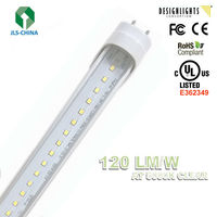 UL/DLC Qualified External Driver 4ft T8 LED Tube Light with 5 years warranty