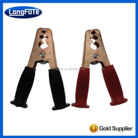 LongFuTe Insulation Electrical Alligator clip/Crocodile Clips cable connector wire