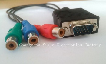 vga rca cable price hot selling high speed