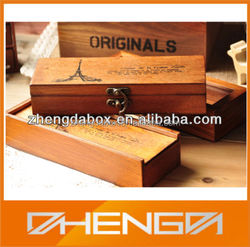 High Quality Customized Made-In-China Delicate Pen Box With Vintage Design (ZDL13-P060)