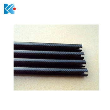 carbon fiber 1.0mm 2.0mm pipe production with high pressure