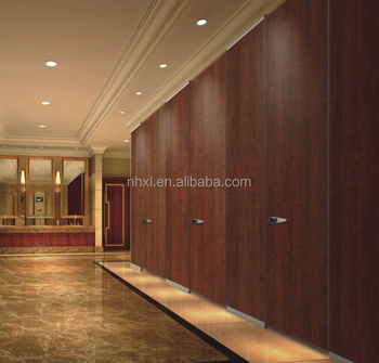 Decorative High-Pressure Laminates waterproof toilet cubicle partition board cheap toilet partitions HPL