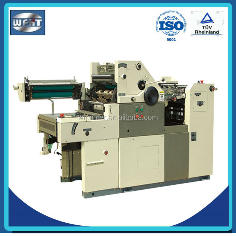 HT56II NP offset printing press one colour, offset numbering machine