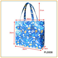 Purse Style Reusable Nylon Or Polyester Foldable Shopping Bag