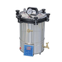 PORTABLE AUTOCLAVE SINGLE DRUM STAINLESS STEEL