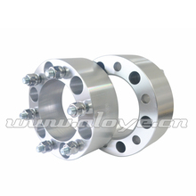 2PCS 6X139.7 CB 108MM Thick 60MM M12X1.5 Aluminum Wheel Spacers Adapter
