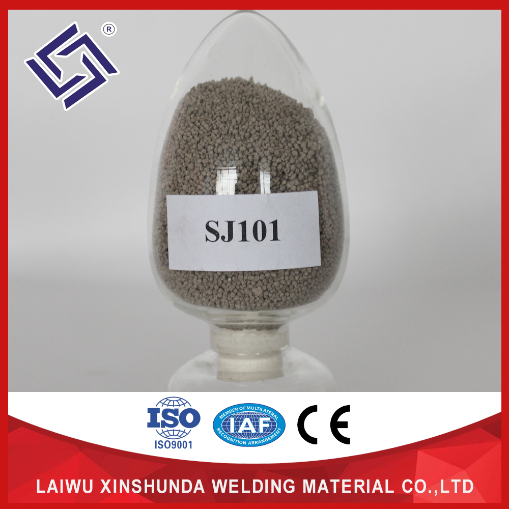 high quality aluminum welding flux SJ501 SJ301 SJ101