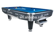 International Standard American style Table national standard size pool tables top