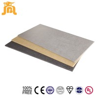 fire rated fiber cement outside building finishing materials