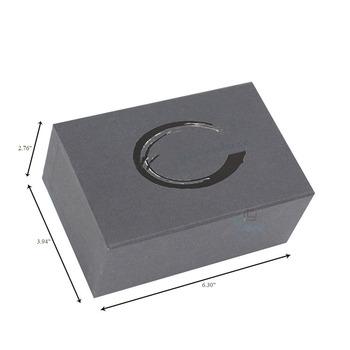 luxury packaging cardboard tie and cufflinks gift box