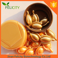 2014 new skin care whitening facial oil capsules