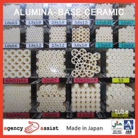 High purity and Extreme-heat resistance alumina ceramic plate made in Japan