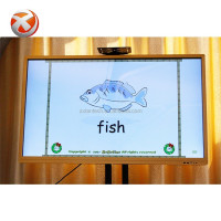 Ultra HD display interactive whiteboard smart board with projector