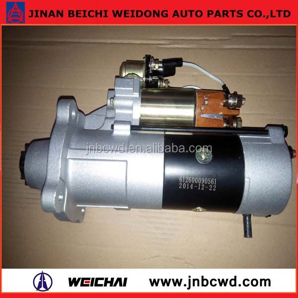 Heavy truck used Starter, Weichai engine Starter with low price