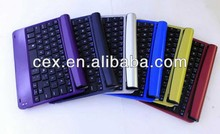 For Apple iPad mini Aluminum Bluetooth Wireless Keyboard Case Cover