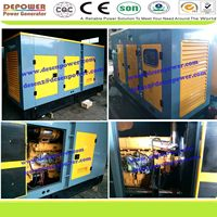 Low noise new 20,80,100,200,500,250,800,1000,1500KVA with Cummins engine silent diesel generator