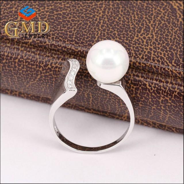 Custom beautiful women hot selling 925 silver engagement ring