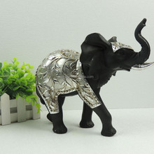 Resin Home Decors Silver Elephant Figurines Wholesale with Souvenir Gifts