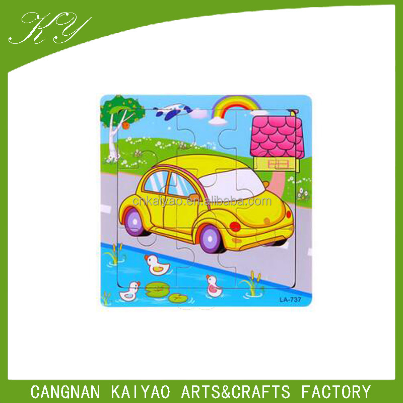 Educational toy children's paper animal jigsaw puzzle for kids,China Zhejiang