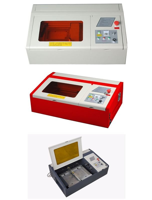 Rabbit HX-3040 mini laser cutter with CO2 laser tube easy to move