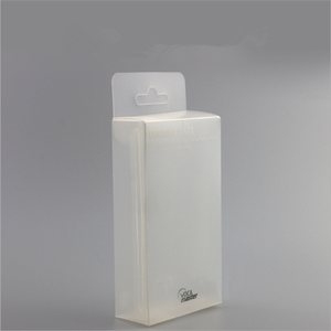High quality waterproof clear PVC PET PP plastic packaging gift box for leather case