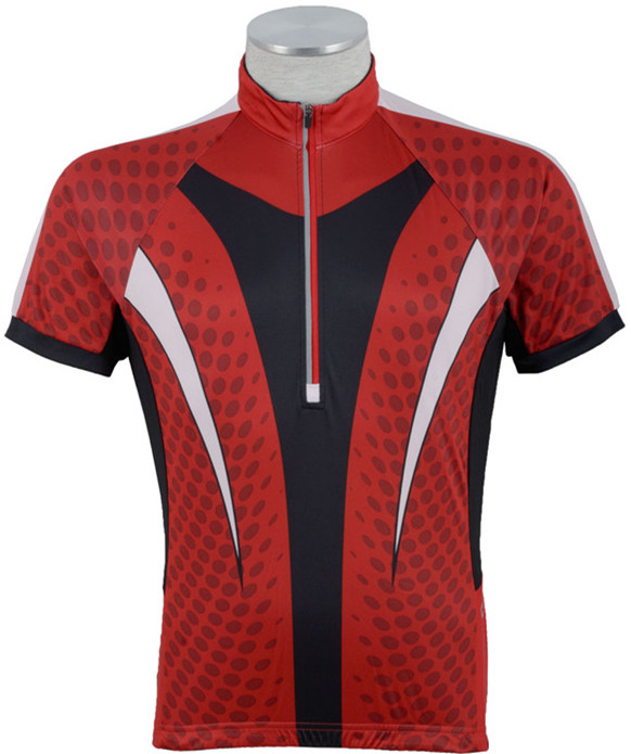 fashionable Custom breathable cycling jersey