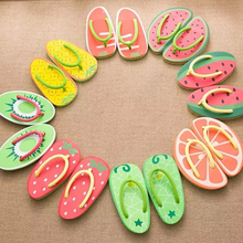 Women's Sandals Summer Beach Flip Flops Lady Fruit Slippers Casual Indoor/home Slipper Platform Flat Shoes