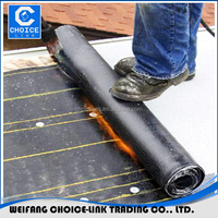 APP outdoor bitumen waterproof rubber flooring membrane sheets