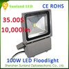 Factory price 100W IP65 2 years ip65 outdoor rgb flood light led