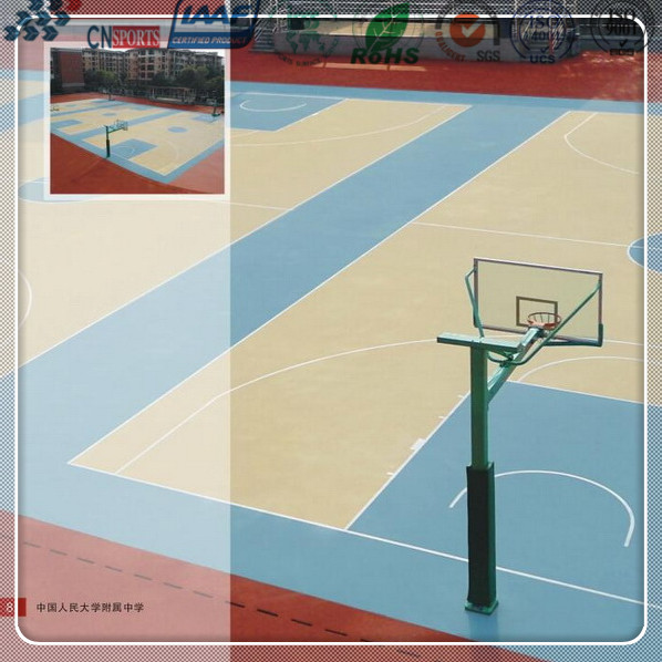 indoor and outdoor basketball court flooring materials price
