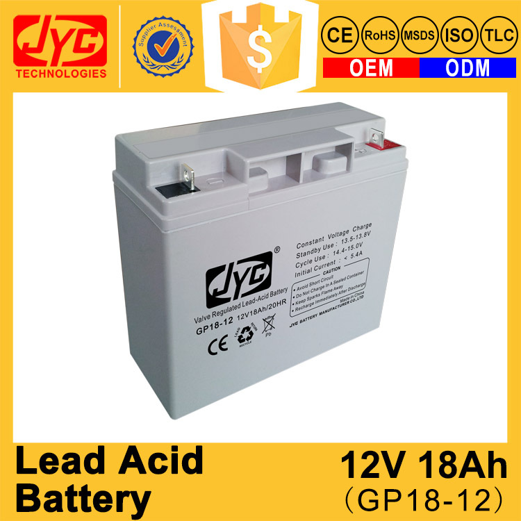 Factory quality sealed lead acid battery 12v 17ah 18ah