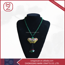 2016 New Products High Quality Green Gemstone Pendant