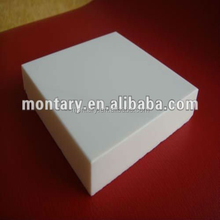 snow white artificial stone nano glass basketball flooring