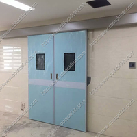 hospital automatic sliding operating room hermetic door
