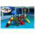 China Plastic kids outdoor playground 2018 adult playground equipment cheap children slides HF-G143B