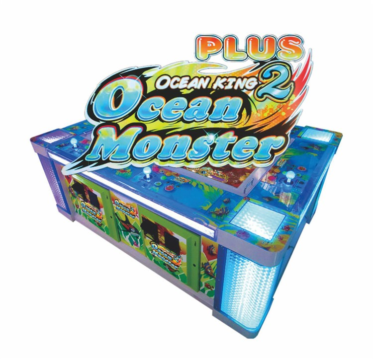 Ocean Monster Plus Arcade Fishing Catching Game Machine For Sale