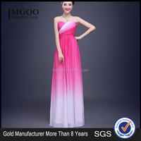MGOO High Quality Stock Under 50 Dollars Women Free Prom Dress Lace Up Tie Dye Ruched Pink Evening Dress mw1033