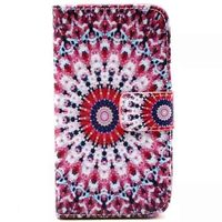 Painted pu wallet stand case for lg l70 flip cover,for lg l70 back cover stand case