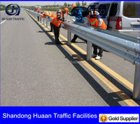 Guardrail from Shandong Huaan Traffic Facilities Co.,