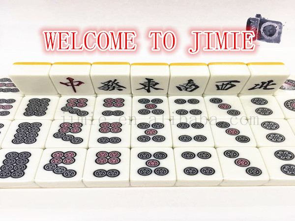 plastic custom mahjong set